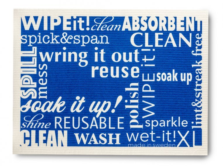 Large Swedish Cleaning Cloth - 2 Pack by Wet-It! - 4