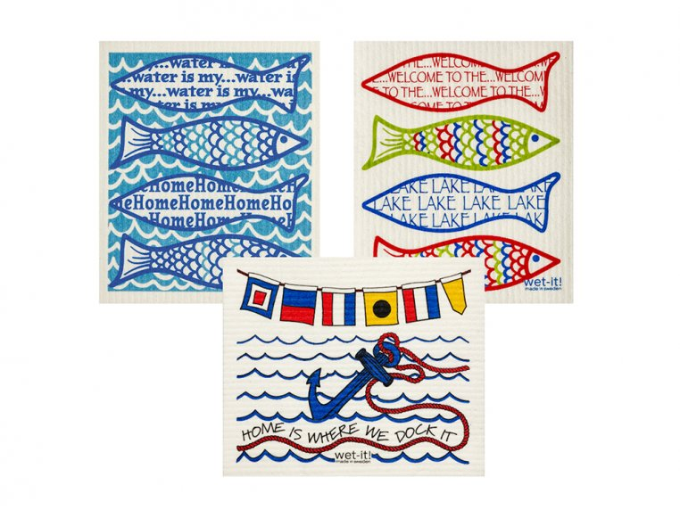 Swedish Dishcloth - 3 Pack by Wet-It! - 19