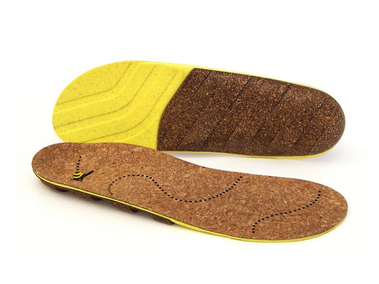 Natural Cork Insoles by Honey Soles - 4