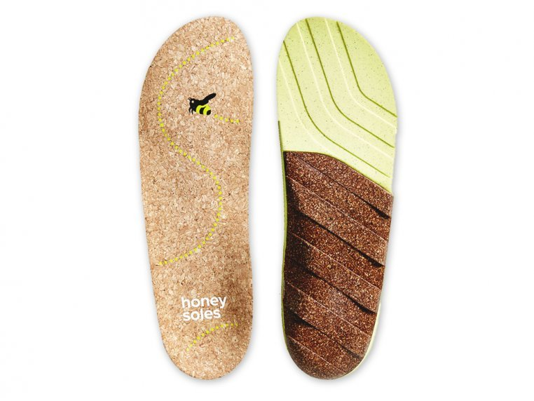 Natural Cork Insoles by Honey Soles - 6