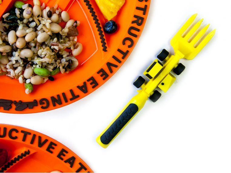 Meal Set with Placemat by Constructive Eating - 2