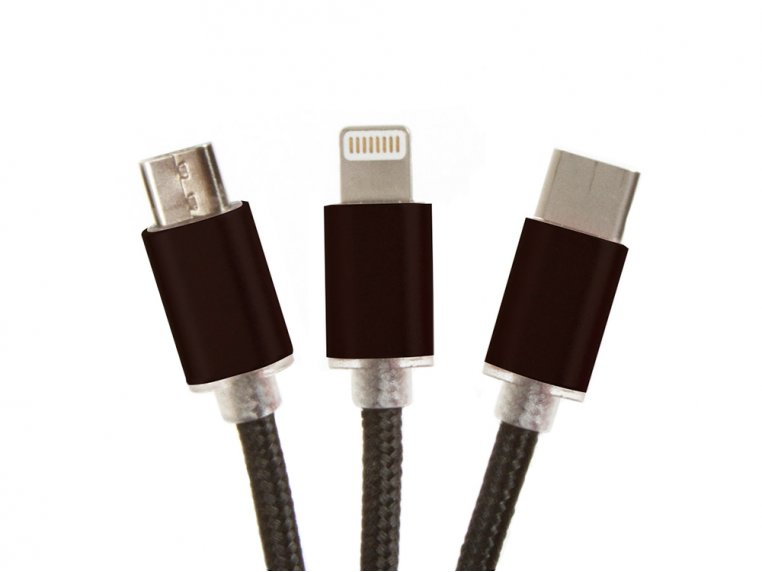 3-in-1 USB Charging Cable by JumpSmart - 3