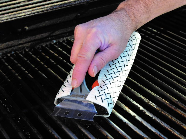 Q-Swiper Grill Scrubber Set by Proud Grill Company - 5
