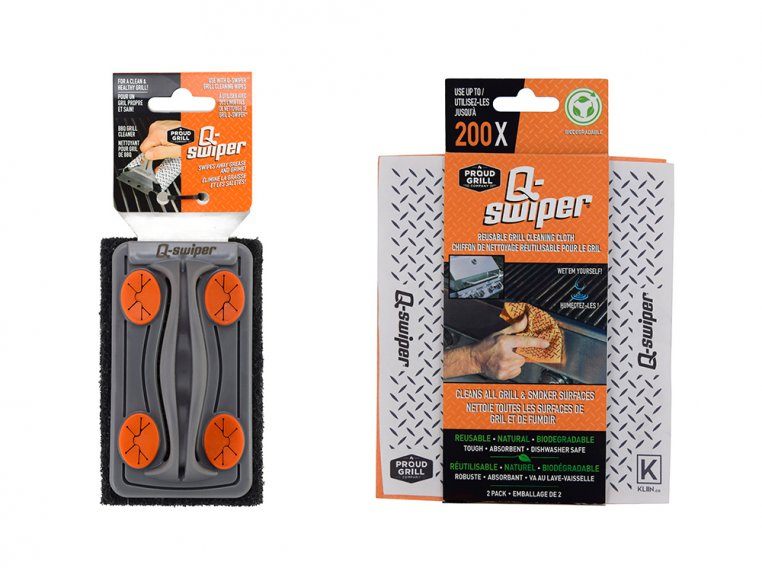 Q-Swiper Grill Scrubber Set by Proud Grill Company - 19