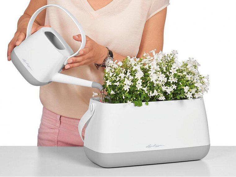 Yula Self-Watering Double Planter by LECHUZA - 2