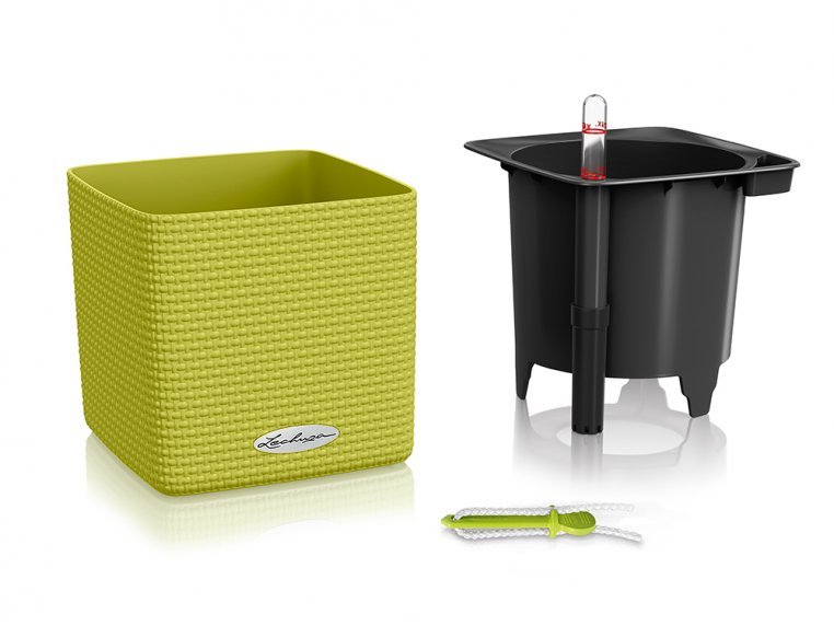Cube Self-Watering Planter by LECHUZA - 4
