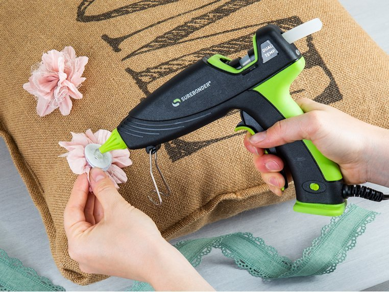Auto Shut-Off Dual Temp Hot Glue Gun by Surebonder - 2