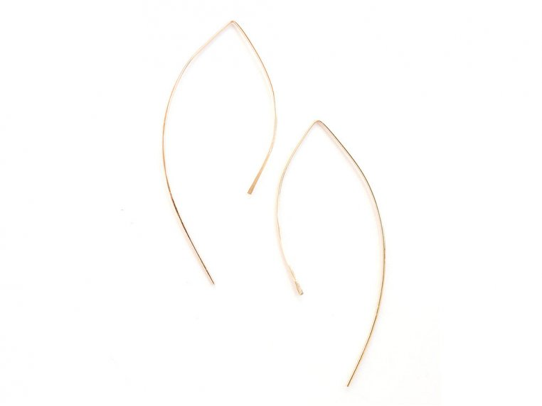 Featherweight Arc Earring by April Soderstrom - 9