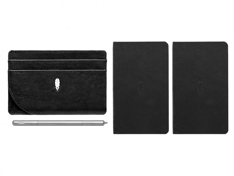 Inscribe Self Notebook Wallet with Pen