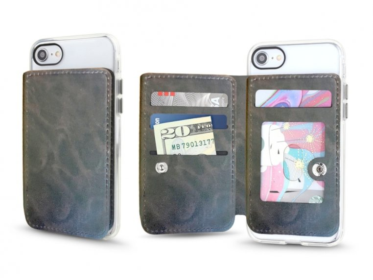 Universal Stick-On Cell Phone Wallet by Gear Beast - 5