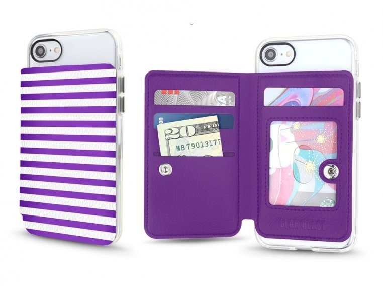 Universal Stick-On Cell Phone Wallet by Gear Beast - 9