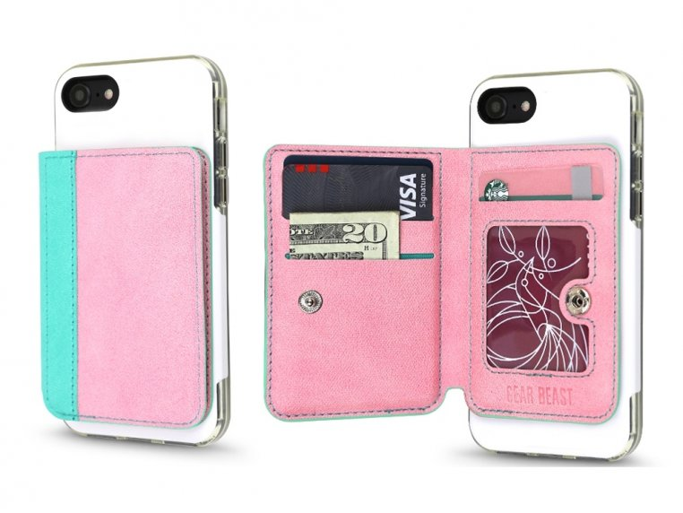 Universal Stick-On Cell Phone Wallet by Gear Beast - 18