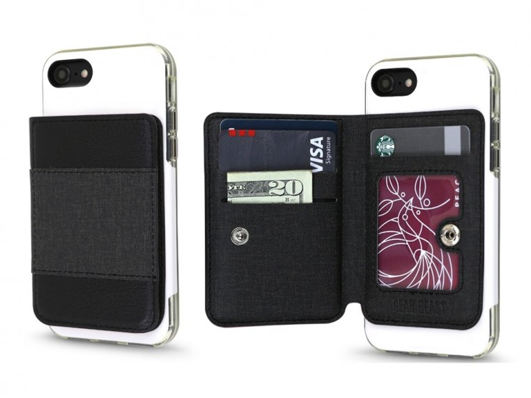 Universal Stick-On Cell Phone Wallet by Gear Beast - 19