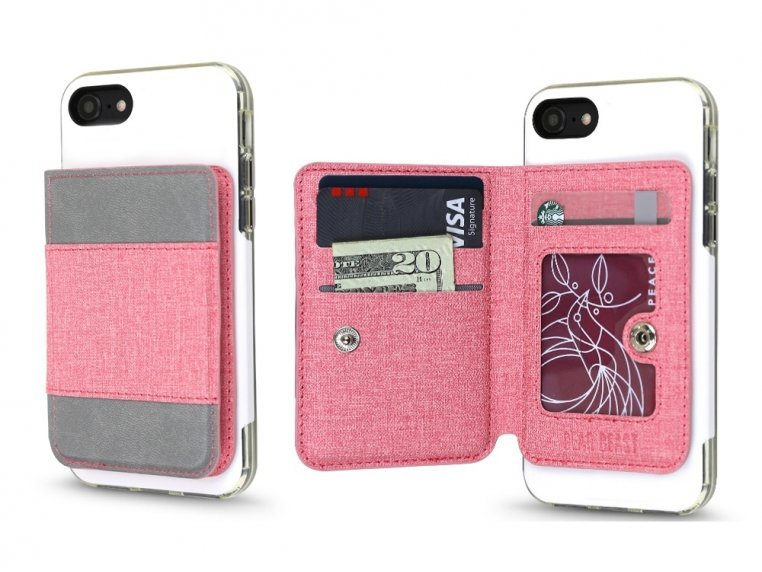 Universal Stick-On Cell Phone Wallet by Gear Beast - 20
