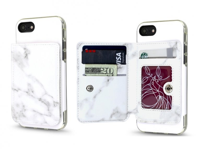 Universal Stick-On Cell Phone Wallet by Gear Beast - 21
