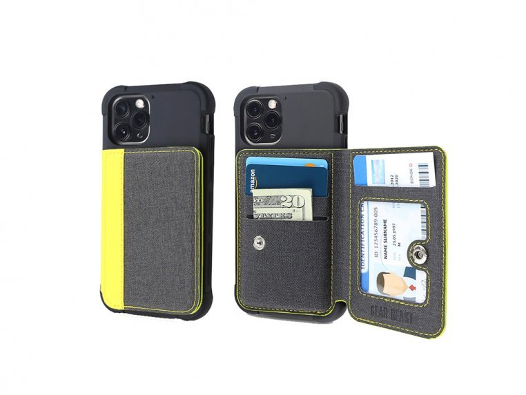 Universal Stick-On Cell Phone Wallet by Gear Beast - 22