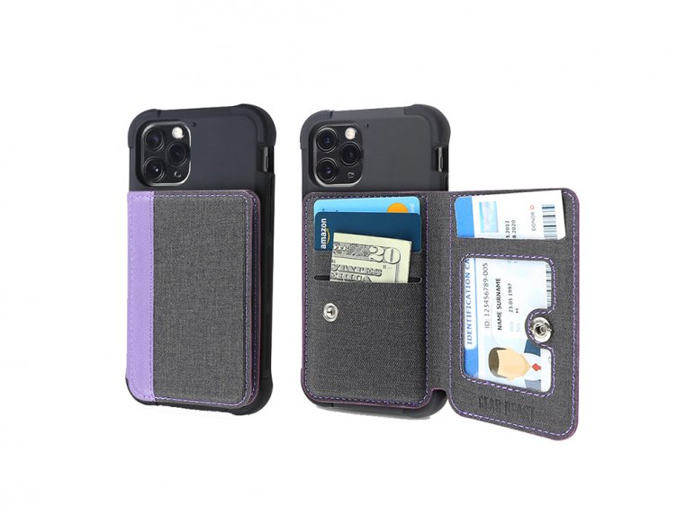 Universal Stick-On Cell Phone Wallet by Gear Beast - 23