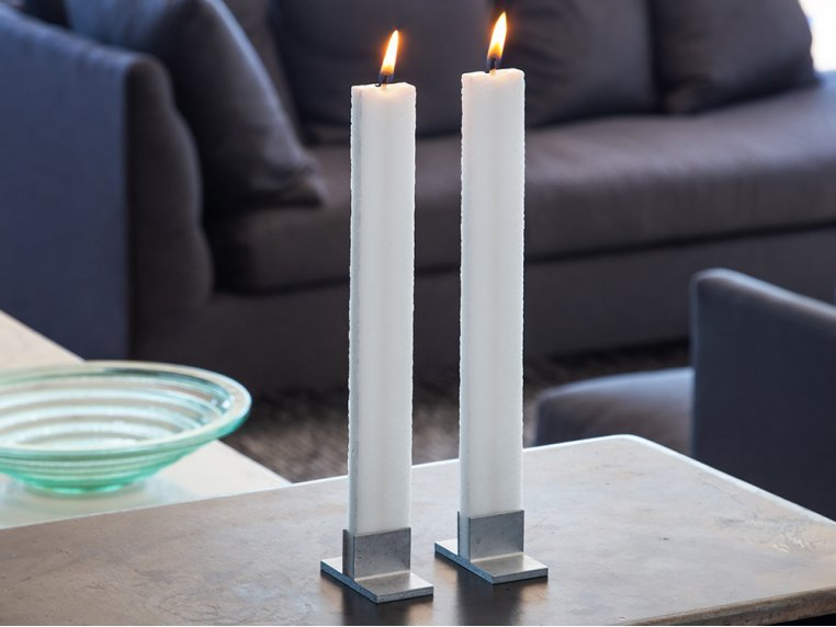 Flat Taper Candle Set by The Austrian Atelier - 1