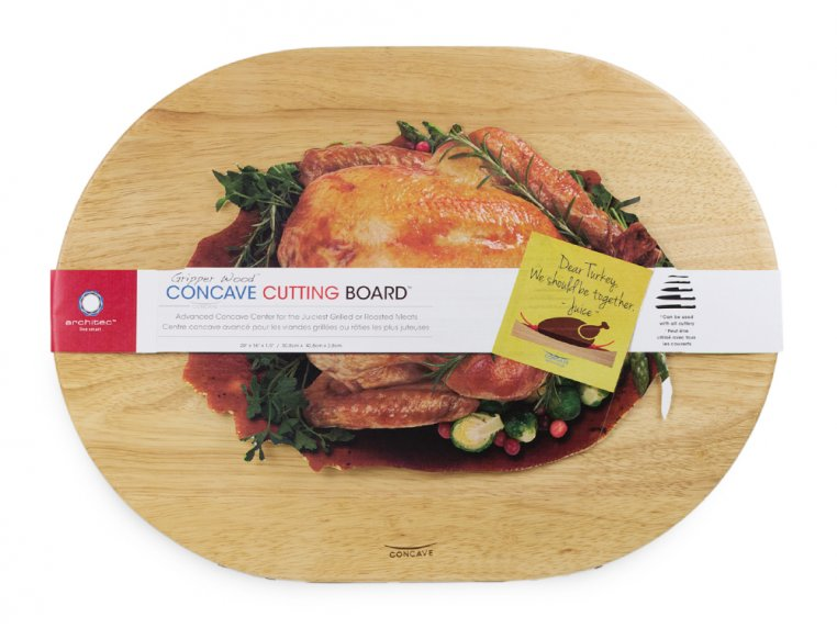 Oval Concave Cutting Board by Architec - 5