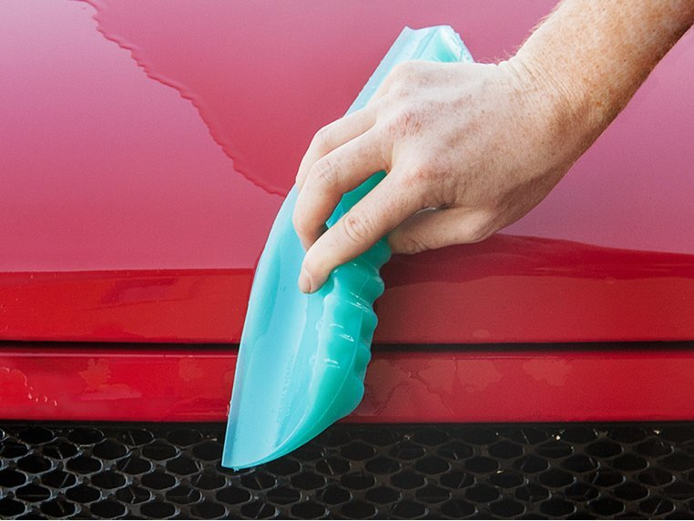Multipurpose Silicone Squeegee by One Pass Water Blade - 1