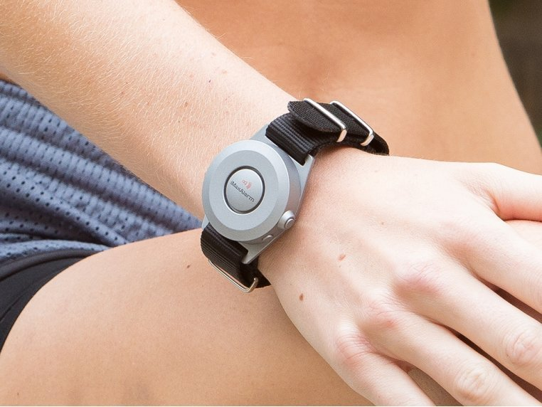 Wearable Personal Security Alarm by iMaxAlarm - 1