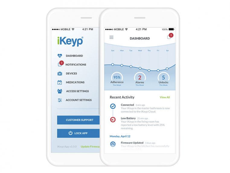 Smartphone Connected Personal Safe by iKeyp - 4