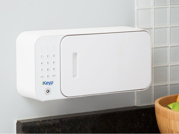 Smartphone Connected Personal Safe by iKeyp - 1