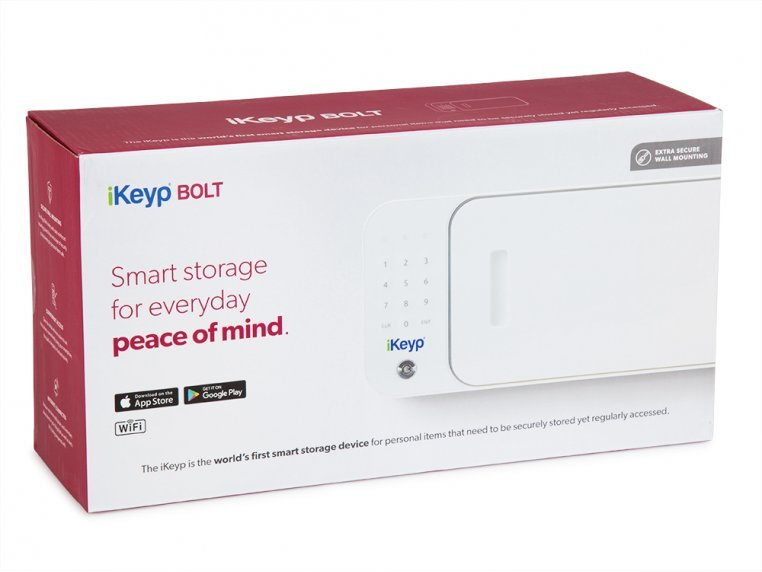 Smart Connected Personal Safe - Bolt (Stationary Installation) by iKeyp - 2