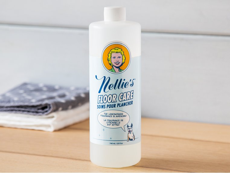 Floor Care Cleaning Solution by Nellie's WOW Mop - 1
