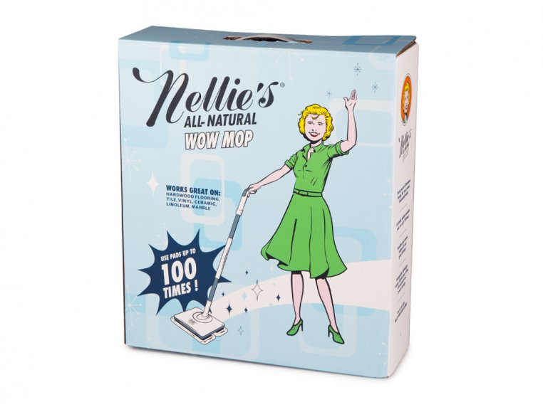 Oscillating Floor Mop by Nellie's WOW Mop - 10