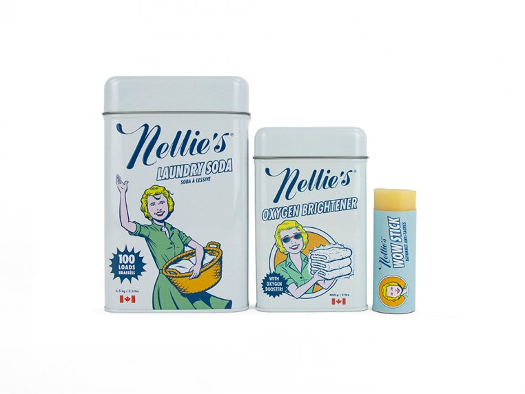 Laundry & Stain Remover Bundle by Nellie's - 3