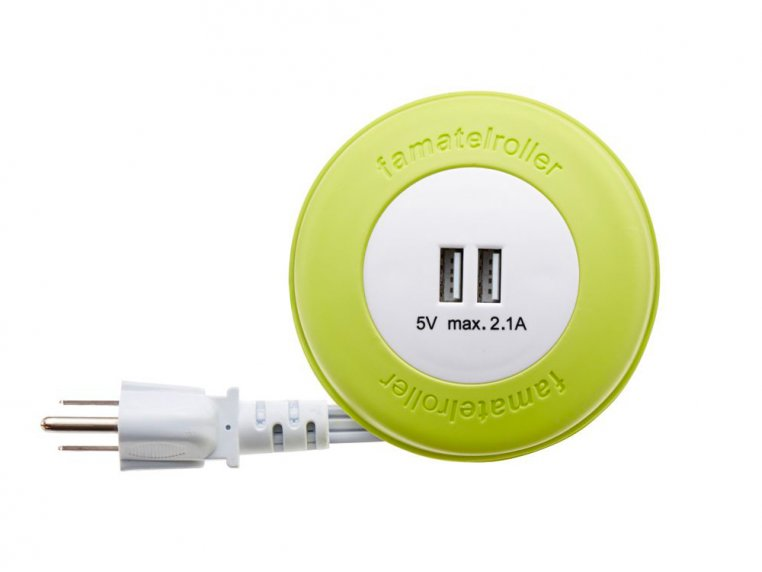 6.5 ft Extension Cord with Reel by EasyLife - 7