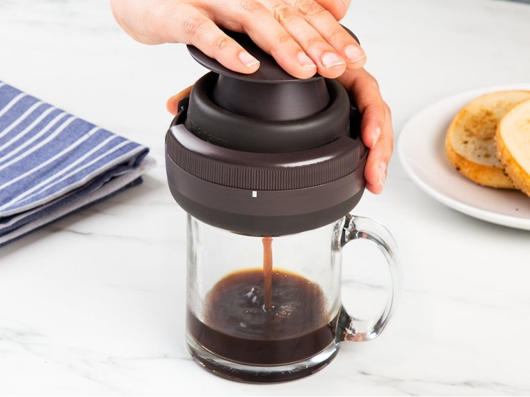 Single-Serve Coffee Press by Palmpress - 1