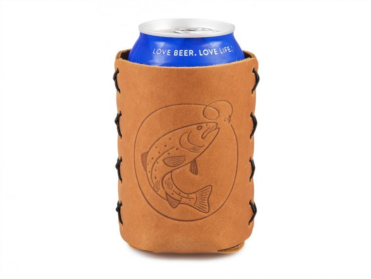 Leather Can Sleeve by Oowee - 3