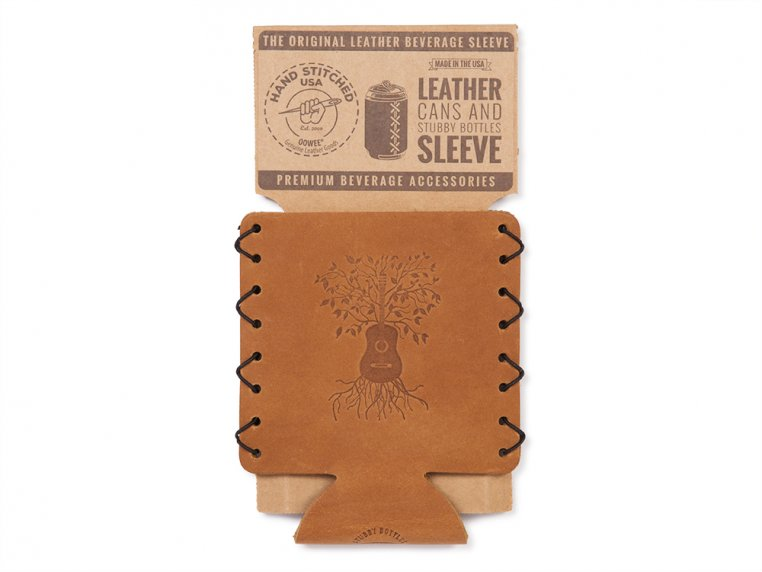 Leather Can Sleeve by Oowee - 4
