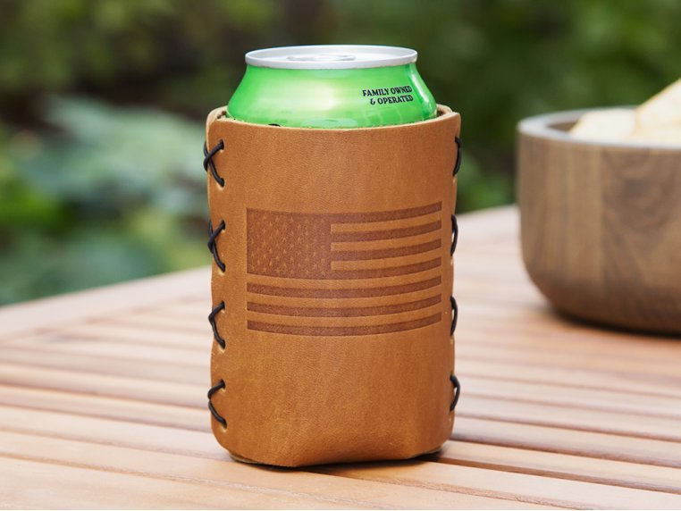 Leather Can Sleeve by Oowee - 1