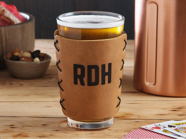 Personalized Leather Drink Sleeves by Oowee - 2