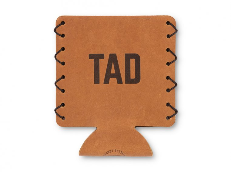 Personalized Leather Drink Sleeves by Oowee - 5