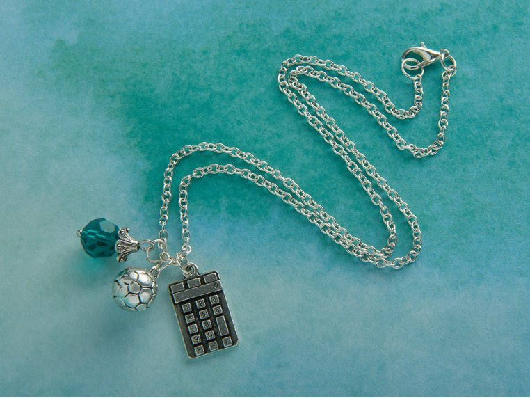 Inspirational Charm Necklace by Smart Girls Jewelry - 1
