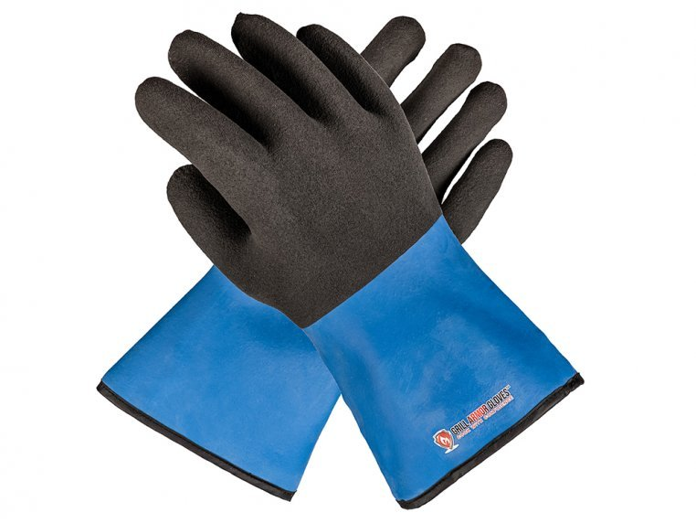 Waterproof Heat-Resistant Cooking & Grilling Gloves by Grill Armor Gloves - 4