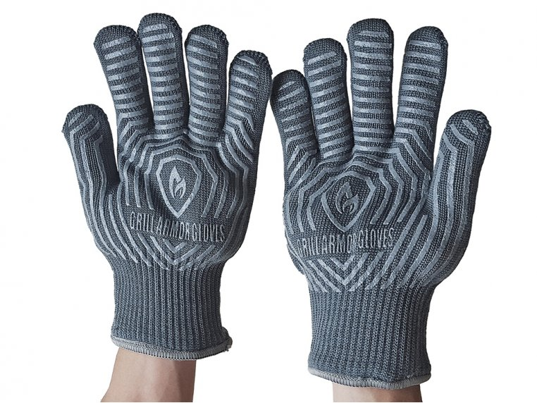 Heat-Resistant Cooking & Grilling Gloves by Grill Armor Gloves - 3