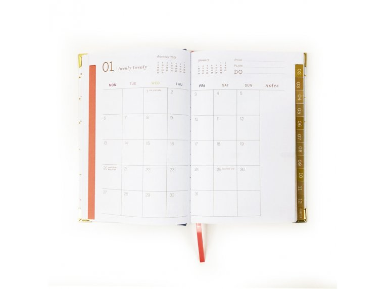 2020 Inspirational Daily Planner by lake + loft - 4