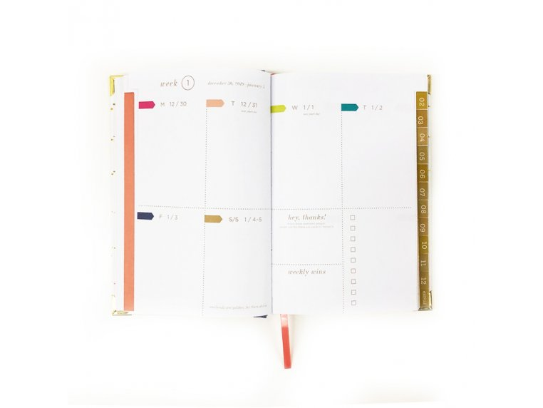 2020 Inspirational Daily Planner by lake + loft - 5