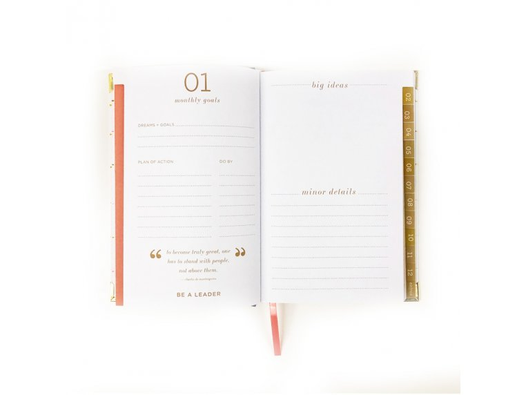 2020 Inspirational Daily Planner by lake + loft - 7