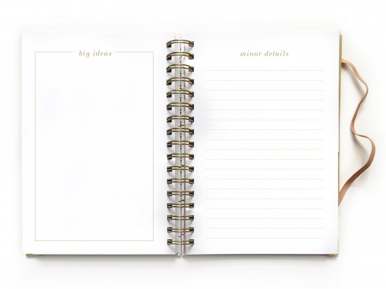 Undated Weekly Dream Plan Do Planner by lake + loft - 5
