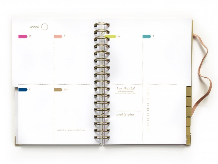Undated Weekly Dream Plan Do Planner by lake + loft - 9