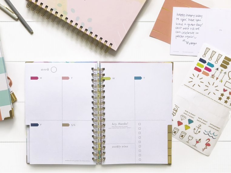 Undated Weekly Dream Plan Do Planner by lake + loft - 1