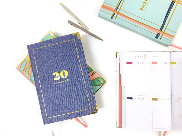 2020 Inspirational Daily Planner by lake + loft - 1
