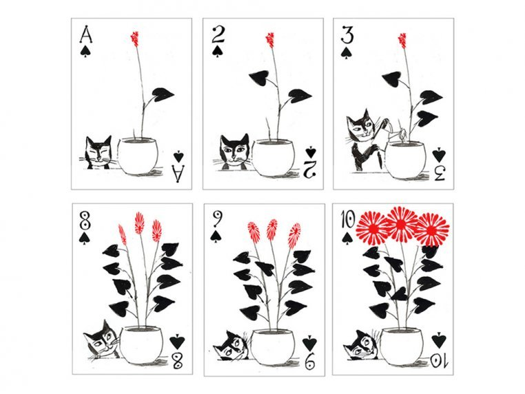 Kitten Club Playing Cards by Artiphany - 4