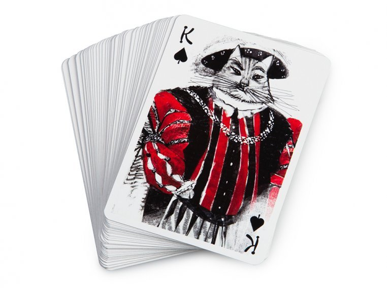 Kitten Club Playing Cards by Artiphany - 5